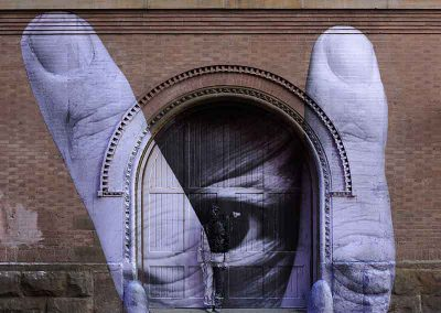 Liu Bolin x JR 1