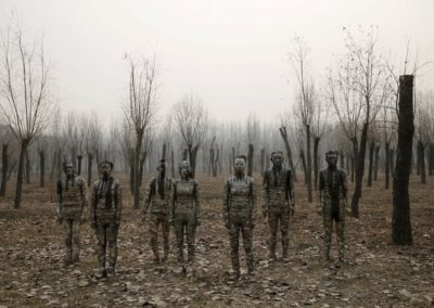 Liu Bolin, Dongji (Winter Solstice) (2015)