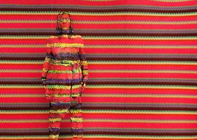Liu Bolin x Missoni